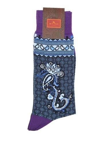 Etro Çorap Mavi